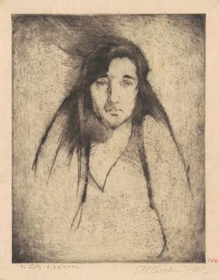 Portrait of Mamie Noones