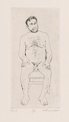 No. 3. W. Seated