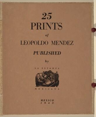 25 Prints of Leopoldo Mendez