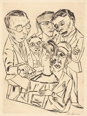 The Draftsman in Society (Der Zeichner in Gesellschaft)