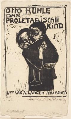 Girl Holding a Child (Madchen ein Kind Tragend)