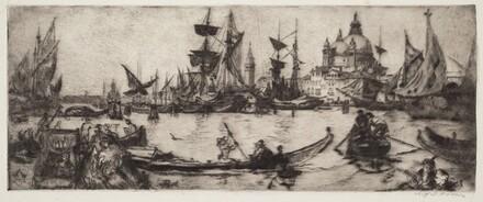 Harbour Scene - Venice