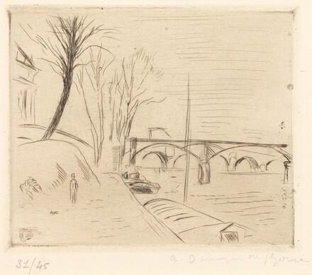 The Pont des Arts (Le Pont des Arts)
