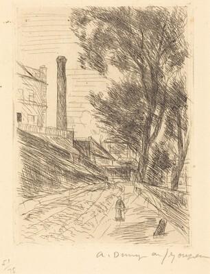 Landscape with Chimney (Paysage a la cheminee)