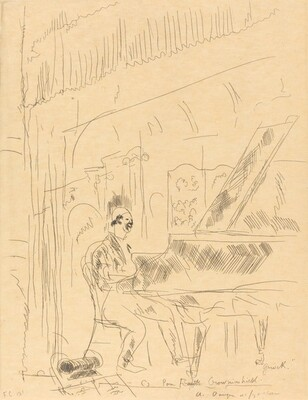 Clown at the Piano