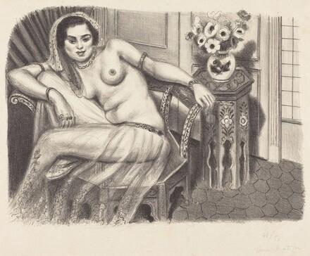 Hindu with Tulle Skirt (Hindoue à la jupe de tulle)