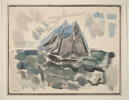 Movement No.9, Sea and Boat, Deer Isle, Maine