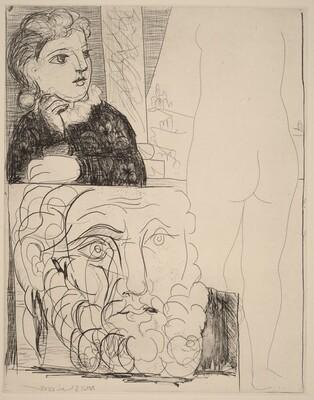 The Maid in the Sculpture Studio (La Bonne dans l'atelier de sculpture)
