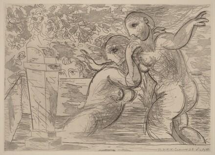 The Surprised Bathers (Les baigneuses surprises)