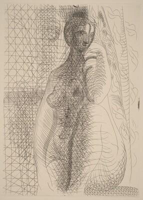 Nude with Her Knee Raised (Femme nue à la jambe pliée)