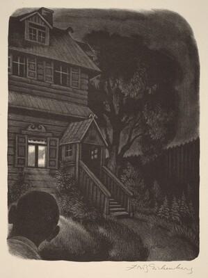 An Occurrence in the Dark (Book VIII: Mitya, facing p.304)