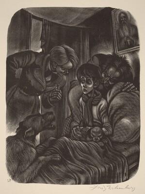 Ilusha Sick (Book X: The Boys, facing p.420)