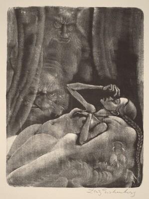The Imp (Book XI: Brother Ivan Fyodorovich, facing p.452)