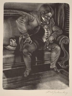 Ivan and the Devil (Book XI: Ivan Fyodorovich, facing p.492)