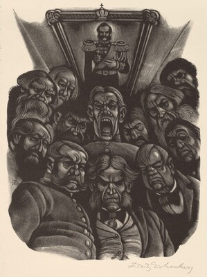 Gentlemen of the Jury  (Book XII: A Judicial Error, facing p.582)