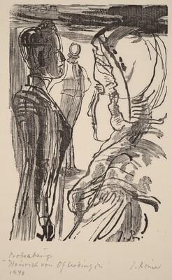 Illustration to Novalis, Heinrich von Ofterdingen