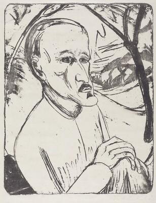 Portrait of M.H. (Bildnis M.H.)