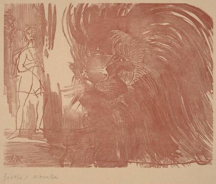 Illustration to Goethe's Novelle