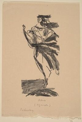 Illustration to Novalis, Hymmen an die NachtRosenhammer