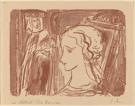 Illustration to Balzac, La Bourse