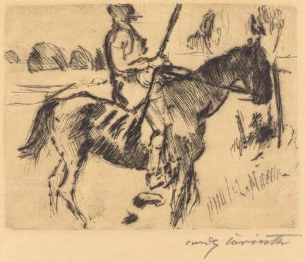 Horse and Rider (Reiter)