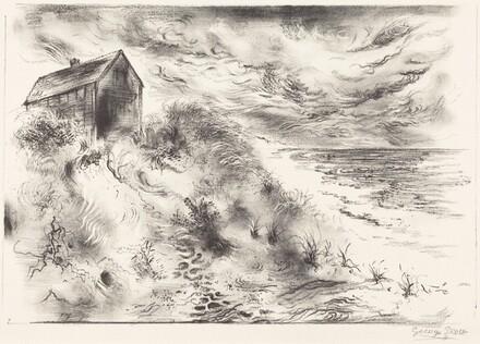 Storm Clouds, Cape Cod  (Sturmwolken uber Cape Cod)
