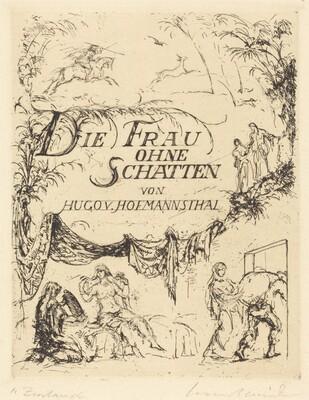 Die Frau ohne schatten von Hugo von Hofmannsthal