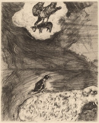 The Raven Who Wished to Imitate the Eagle