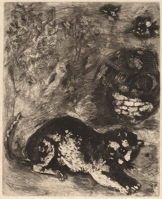 The Cat and the Two Sparrows