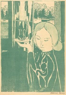 Young Woman with Ewers (Marthe presentant  les burettes ou La jeune fille a l'aiguier