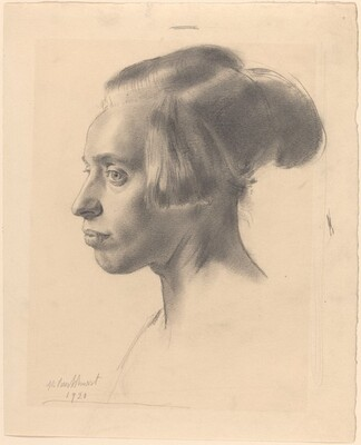 Head of a Coster Girl