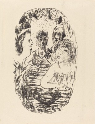 From Le crepuscule des nymphes (frontispiece)