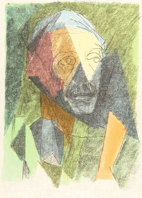 Portrait of Paul Valéry [left]