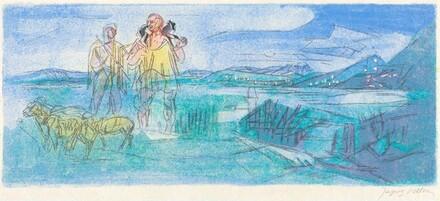 Ninth Bucolic: Moeris and Lycidas Wait for Virgil