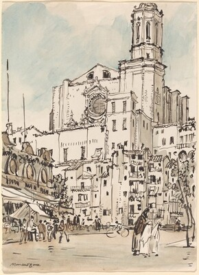 Cathedral Tower, Gerona