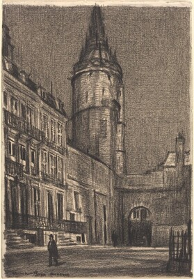 Tower, Auxerre, Night