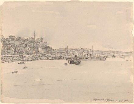 Allied Fleet at Constantinople