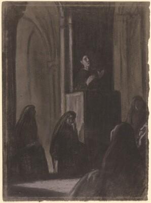 Friar Preaching