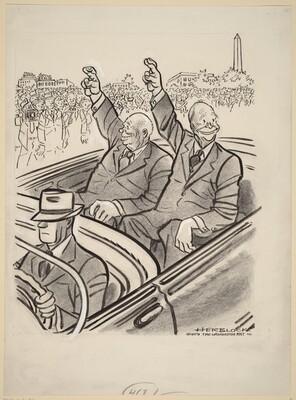 Eisenhower and Krushchev