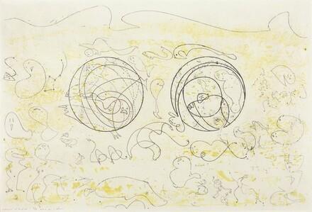 Jacket cover for Antonin Artaud's Galapagos-Les Iles du bout du monde, Paris, 1955