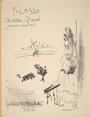 Woman on Balcony (Femme au balcon)
