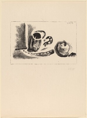 La Tasse et la pomme (Cup and Apple)