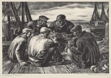 Card-Playing Fishermen