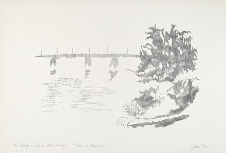 The Bridge at Sevres, Early Morning