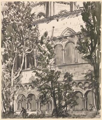 Cloister, San Culgat, near Barcelona