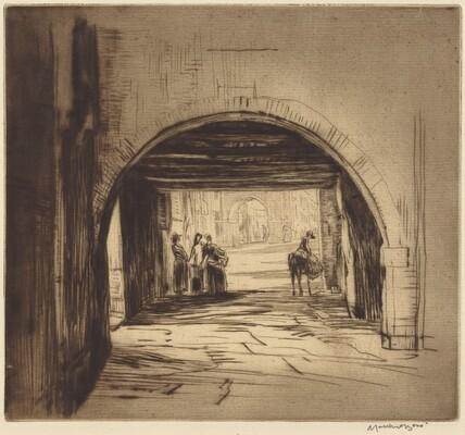Chioggia (or, An Archway, Chioggia)