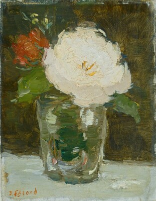 Three Flowers in a Vase