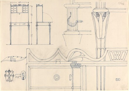 Design for a Desk, with Details
