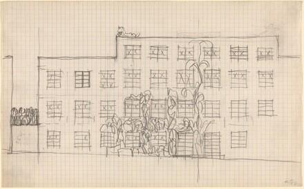 Sketch for a Building Exterior