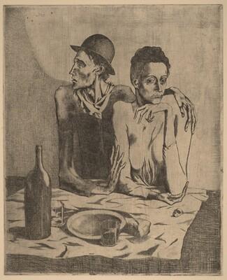 The Frugal Repast (Le repas frugal)